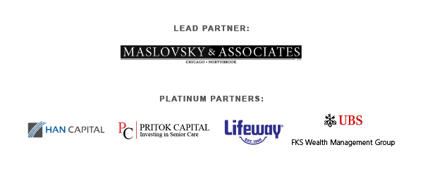 Corporate Partners: Maslovsky & Associates, Han Capital, Lifeway and FKS Wealth Management Group of UBS